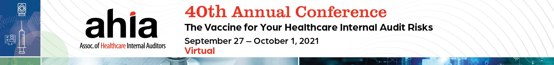 AHIA 2021 Annual Virtual Meeting Main banner