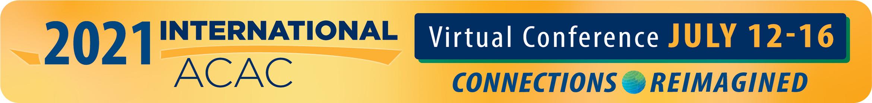 2021 International ACAC Virtual Conference Main banner