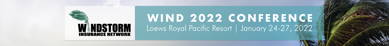 2022 Windstorm Conference Main banner