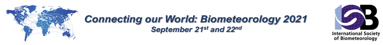 International Congress of Biometeorology Main banner