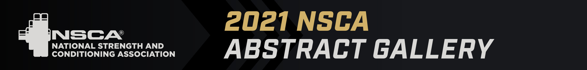 NSCA 2021 Abstracts Main banner