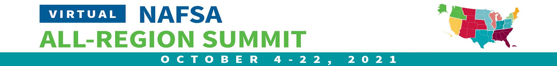 2021 NAFSA All-Region Summit Main banner