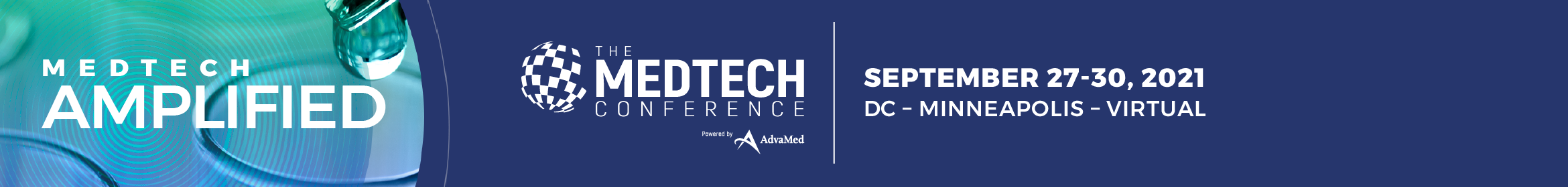 The MedTech Conference 2021 Main banner