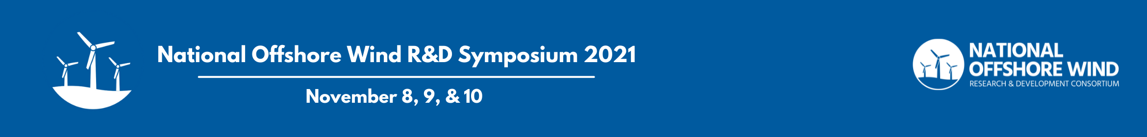 National Offshore Wind R&D Symposium 2021 Main banner