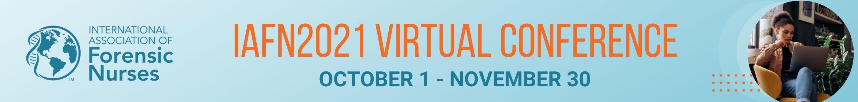IAFN2021 Virtual Conference Main banner