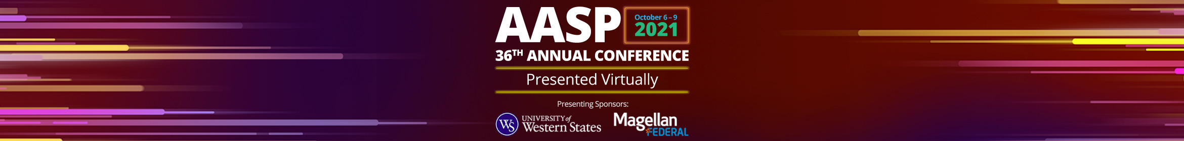 AASP 36th Annual Conference Main banner