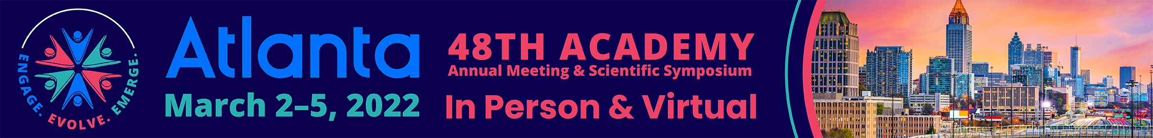 48th Academy Annual Meeting and Scientific Symposium Main banner