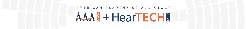 AAA 2020 + HearTECH Expo Main banner