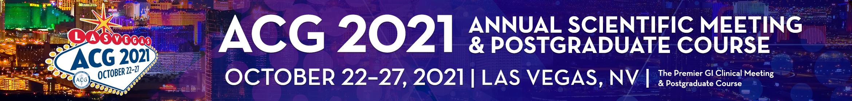 ACG 2021 Annual Meeting Main banner