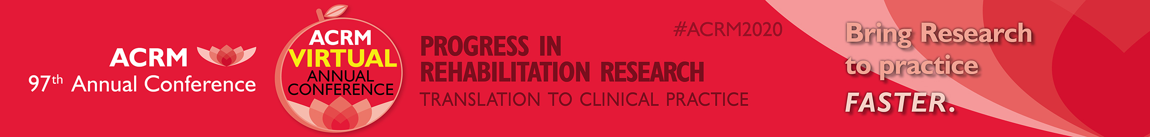 ACRM 97th Annual VIRTUAL Conference Main banner