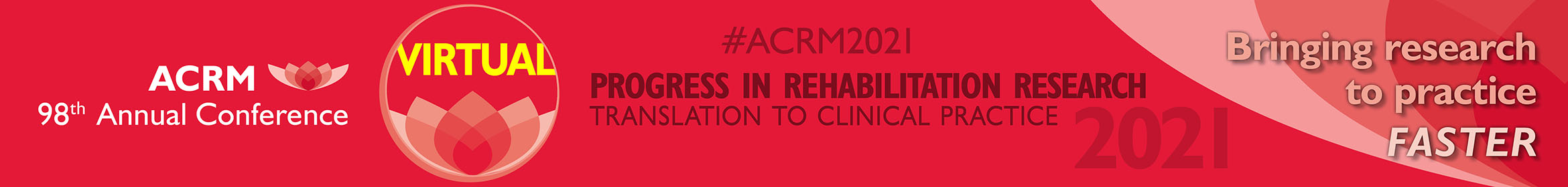 ACRM 98th Annual VIRTUAL Conference Main banner