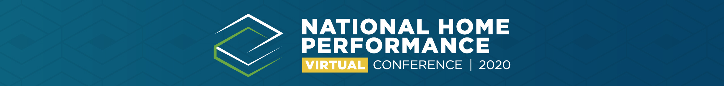 2020 National Home Performance Virtual Conference Main banner