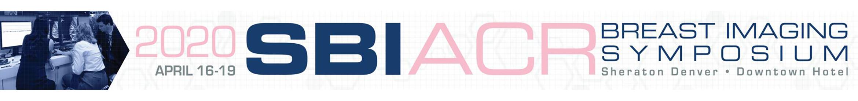2020 SBI/ACR Breast Imaging Symposium Main banner