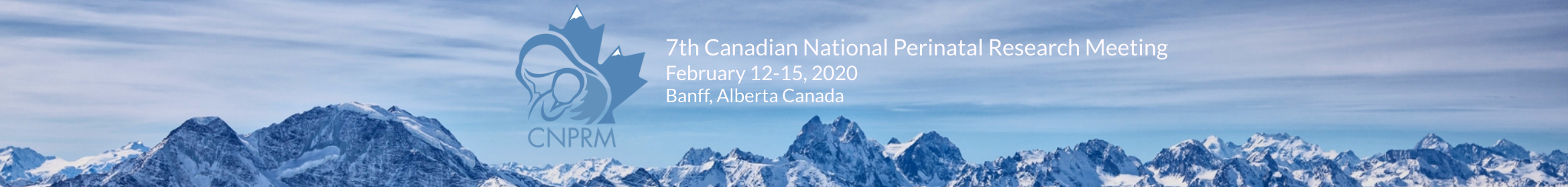 2020 7th Canadian National Perinatal Research Meet Main banner