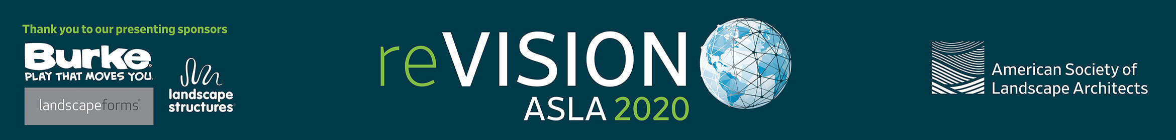 reVISION ASLA 2020 Main banner