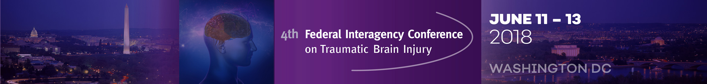 4th Federal Interagency Conference on TBI Main banner