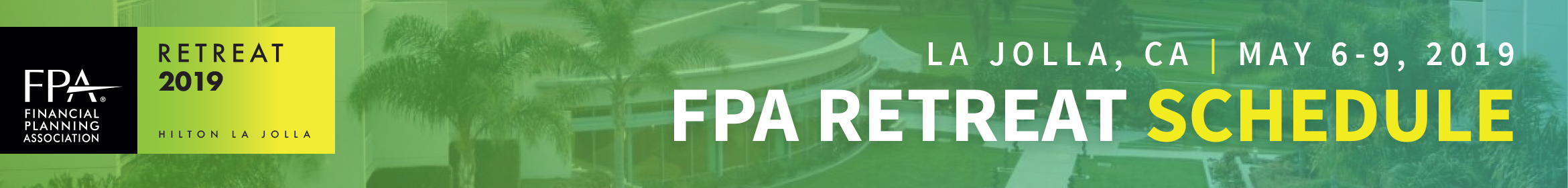 FPA Retreat 2019 Main banner