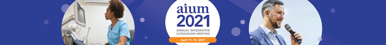 2021 AIUM Annual Convention Main banner