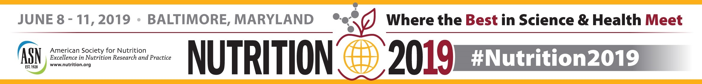 Nutrition 2019 Main banner