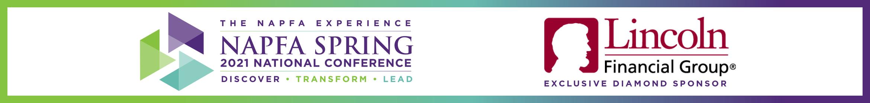 NAPFA Spring 2021 National Conference Main banner