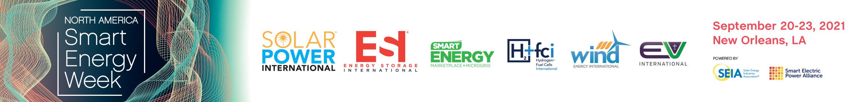 SPI, ESI & North America Smart Energy Week 2021 Main banner