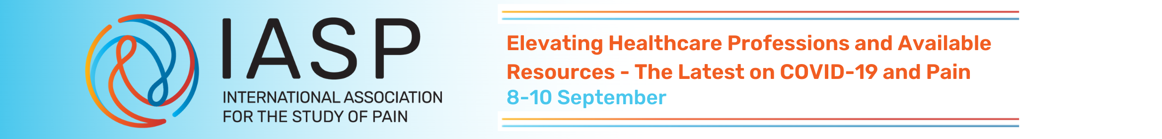 Elevating Healthcare Professionals and Available Resources - The Latest on COVID 19 and Pain Main banner