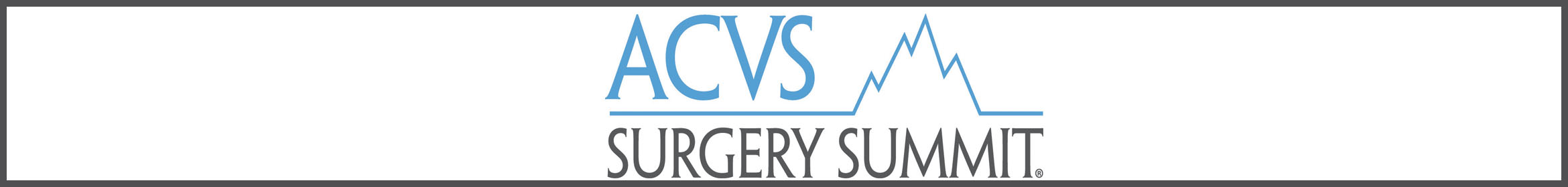 2017 ACVS Surgery Summit Main banner