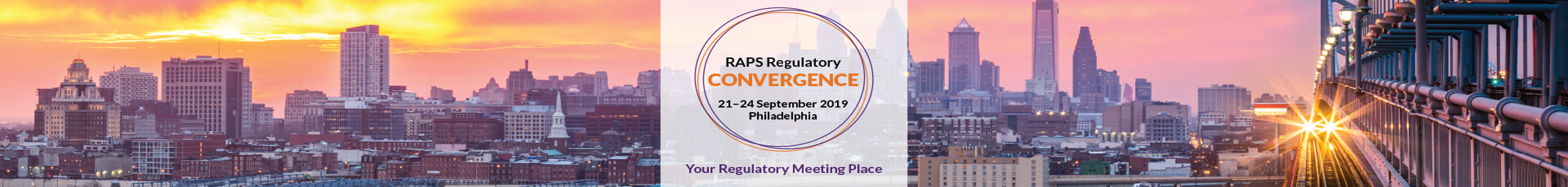 2019 RAPS Regulatory Convergence Main banner
