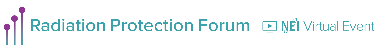 2020 Virtual Radiation Protection Forum Main banner