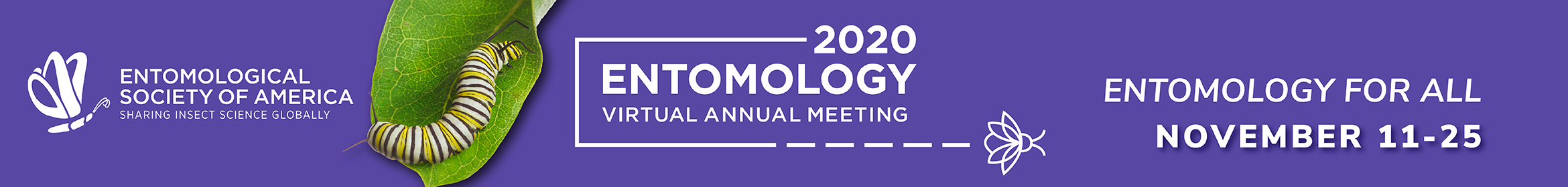 Entomology 2020 Main banner
