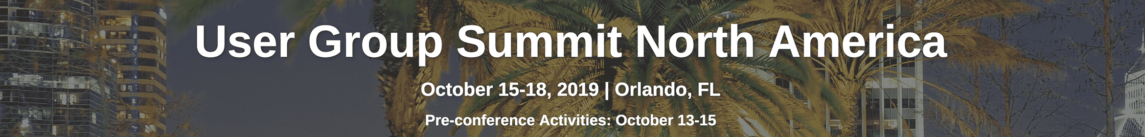 Summit NA Orlando 2019 Main banner