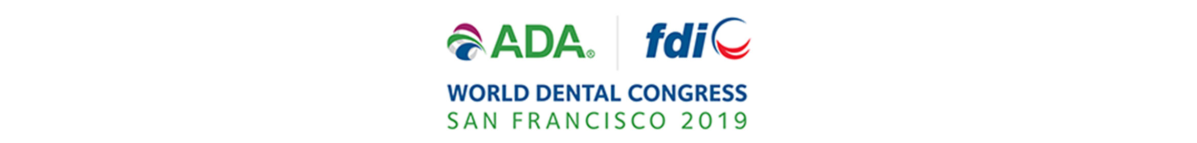 ADA FDI  2019 World Dental Congress Main banner