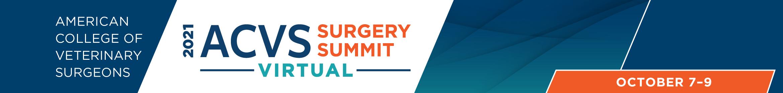 2021 ACVS Virtual Surgery Summit Main banner