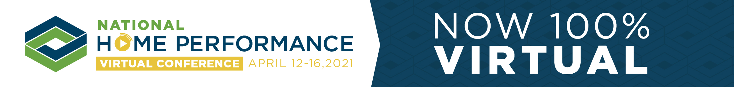 2021 National Home Performance Virtual Conference Main banner