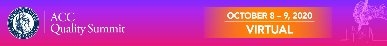 2020 ACC Quality Summit  Virtual Main banner