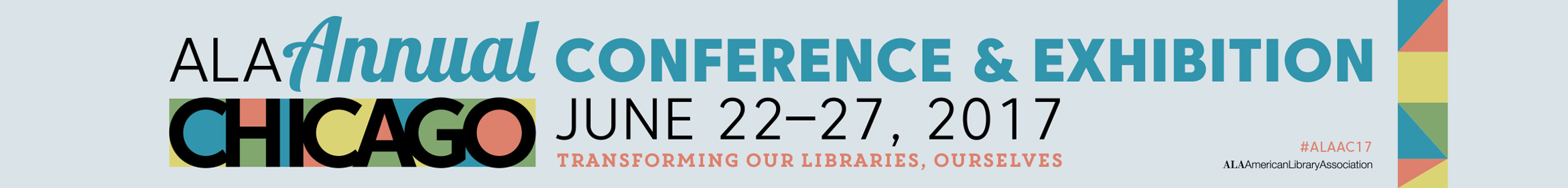2017 ALA Annual Conference Main banner