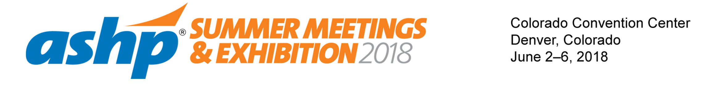 2018 Summer Meetings & Exhibition Main banner