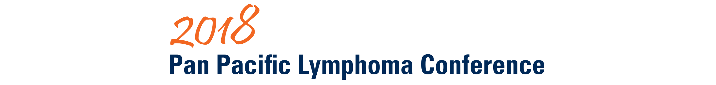 2018 Pan Pacific Lymphoma Conference Main banner