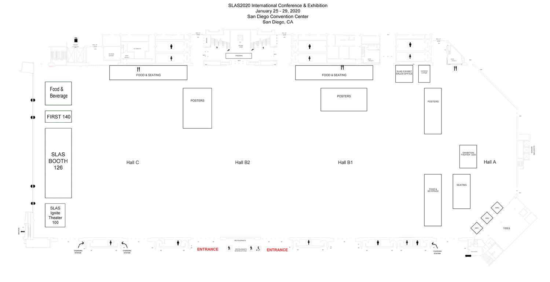 Slas Exhibitor Floor Plan
