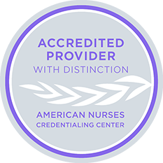 Accredited Provider with Distinction - American Nurses Credentialing Center