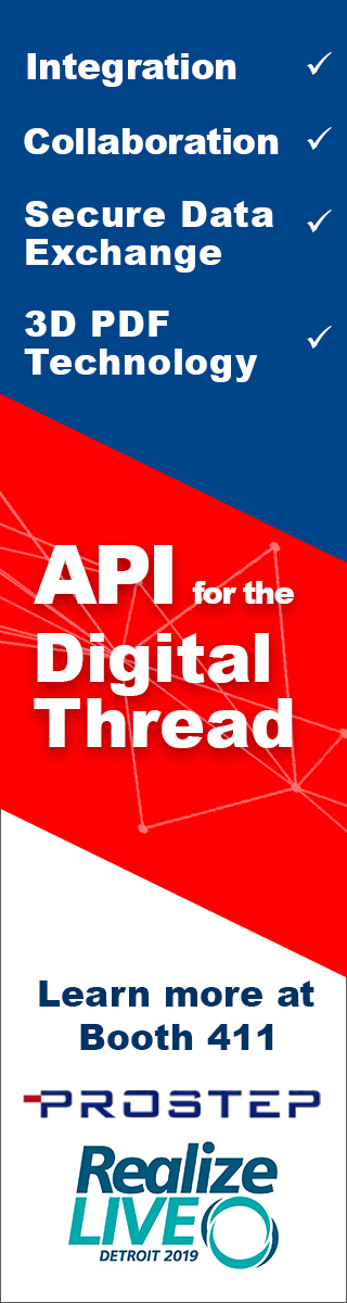 PLM integration with API for Digital Thread